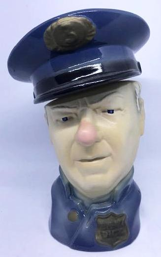 "W.C. Fields Liquor Decanter Created by Paul A. Lux, 1976. (10"" tall)-1"