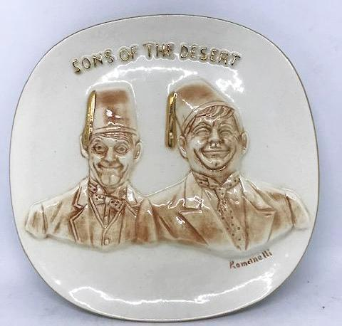 "Sons of the Desert Limited First Edition plate ""1971"""