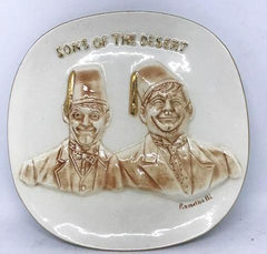 "Sons of the Desert Limited First Edition plate ""1971"" (Roach/Feiner)"