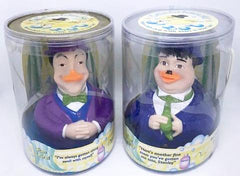 Laurel & Hardy Celebriducks in original packaging (Harmon Pictures, 1999)