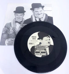 "Laurel & Hardy 7"" LP in Black Vinyl by Another Fine Mess Records (Side 1. Honolulu Baby, Side 2. Let Me Call You Sweetheart)"