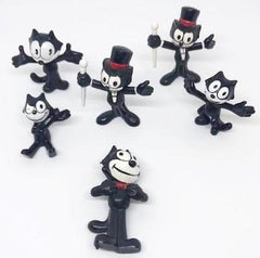 Lot two of Felix the Cat figures