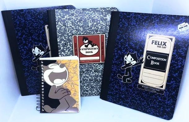 Lot of Felix the Cat Notebooks