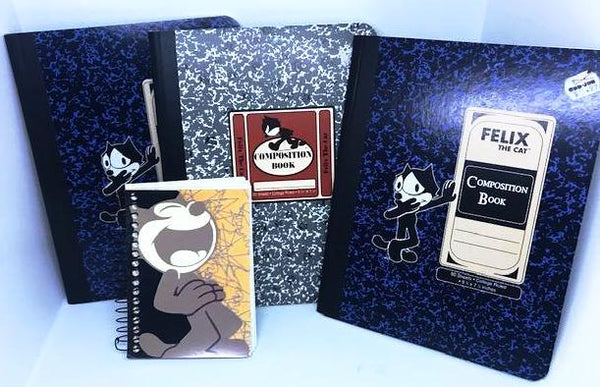 Lot of Felix the Cat Notebooks-1