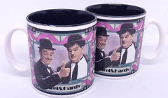 Laurel & Hardy Pair of Mugs (1991)