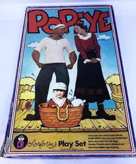 Popeye Colorforms Play Set.