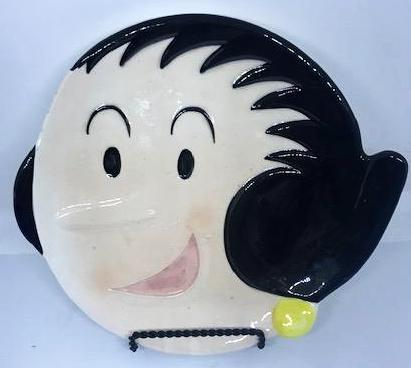 Olive Oyl Collectible Plate from 1980 by Kings Features.-1