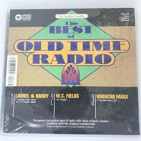 Laurel & Hardy on The Best of Old Time Radio along with W C  Fields and  Groucho Marx