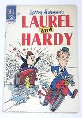 Laurel & Hardy Dell Comic June-August 1963.
