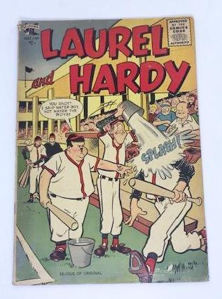 Laurel & Hardy St. John Comic from October 1955.-1