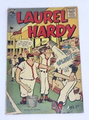 Laurel & Hardy St. John Comic from October 1955.