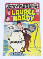 Laurel & Hardy DC Comic 1972.