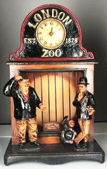 Laurel & Hardy Zoo Clock
