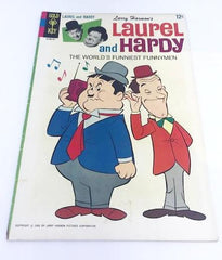 Gold Key Laurel and Hardy Comic, 1966.