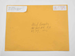 Mad Men: Letter Envelope from Lance Andrews