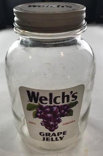 Welch's Grape Jelly Jar