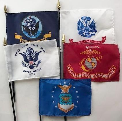 Military Flag Set - 1 of 2