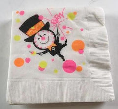 Mad Men: Betty Draper's Vintage New Years Napkins
