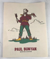 Mad Men: Paul Bunyan Menu from Bobby's camp (Season 6, episode 8)