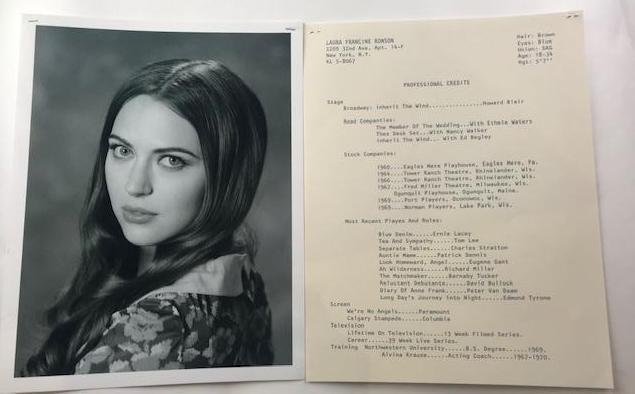 Mad Men Laura Francine Ronson's Headshot from Episode 708)