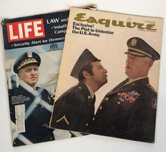 Mad Men Life Magazine and Esquire from 1968