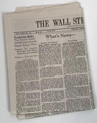MAD MEN: Henry Francis' Wall Street Journal, (Season 6, episode 19)