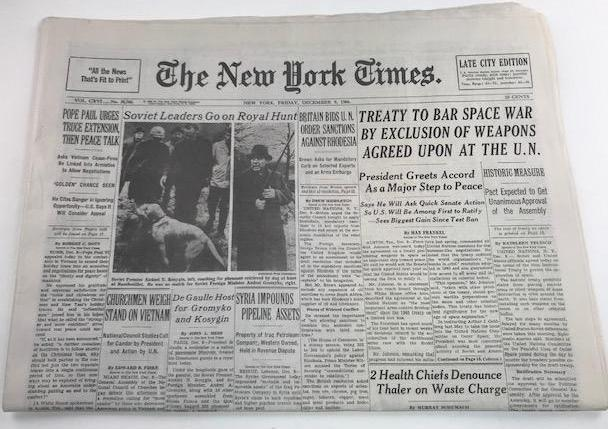 Joan's Hero Paper from December 9, 1966 (Ep. 510/Sc. 39)