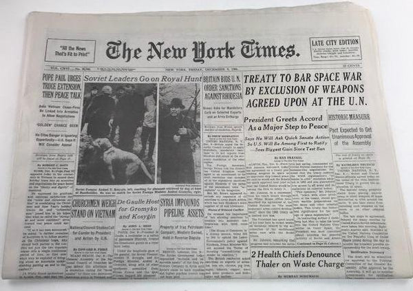 Mad Men: Joan Holloway's Hero Newspaper-1
