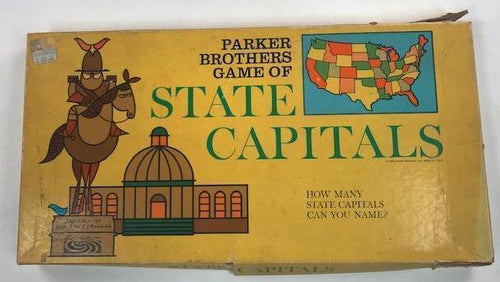 Screenbid Media Company, LLC. - Vintage State Capitols Board Game - 2 of 2