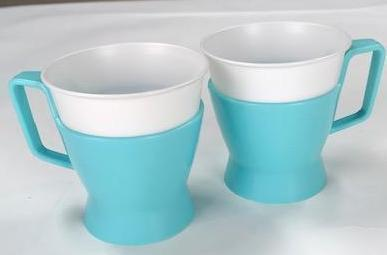 MAD MEN: Don's Vintage Blue Solo cup holders (2ct)-1