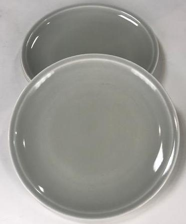Mad Men Light Grey Plate Set 3ct-1