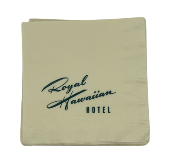 MAD MEN: Stan's Royal Hawaiin Hotel Napkins-1