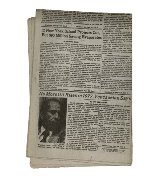 MAD MEN: Rogers 1977 Morning Newspaper-1