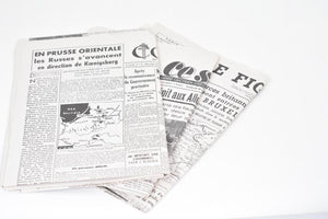 Screenbid Media Company, LLC. - The Monuments Men: Newspaper For Newspaperstand In Claire's Apartment