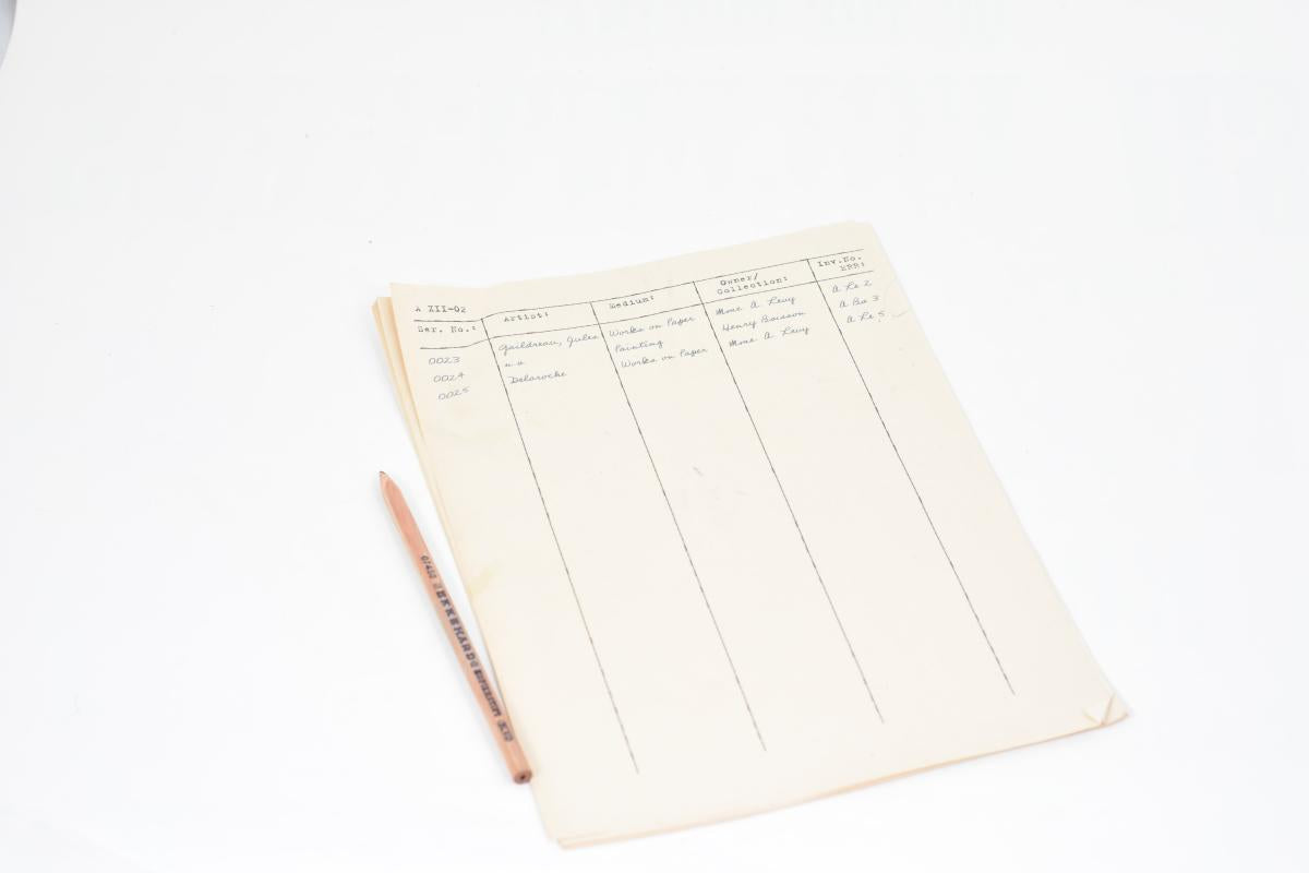 The Monuments Men: Garfield's Paperwork Clipboard