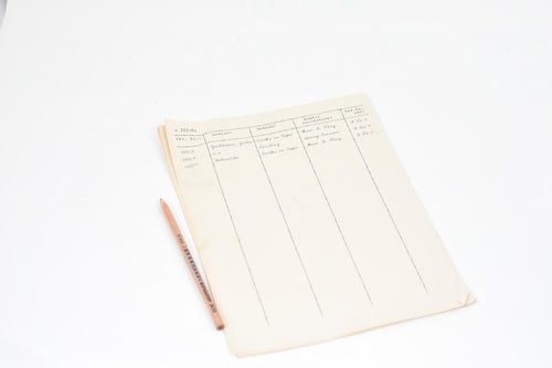Screenbid Media Company, LLC. - The Monuments Men: Garfield's Paperwork Clipboard