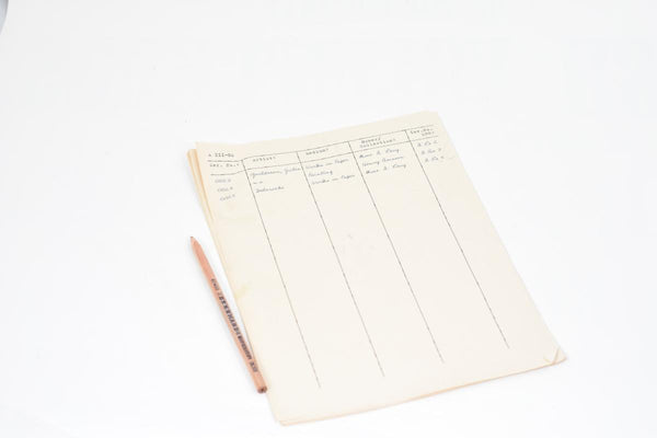 The Monuments Men: Garfield's Paperwork Clipboard-1