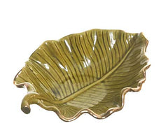 MASTERS OF SEX: William & Libby's Bedroom Ceramic Leaf Dish