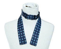 William's Navy Bow Tie with Blue Daisy's (2 of 2)