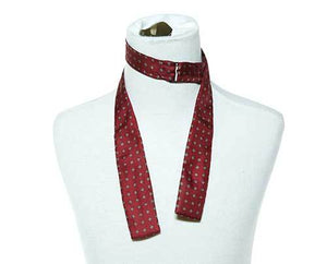 Screenbid Media Company, LLC. - William's Burgundy Bow Tie with Diamond Pattern (1 of 2)