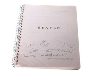 Screenbid Media Company, LLC. - Heaven. Signed Script