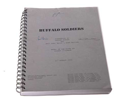 Buffalo Soldiers: Signed Script-2