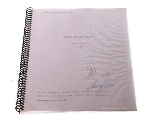 April Despedacado aka Behind The Sun: Signed Script-2