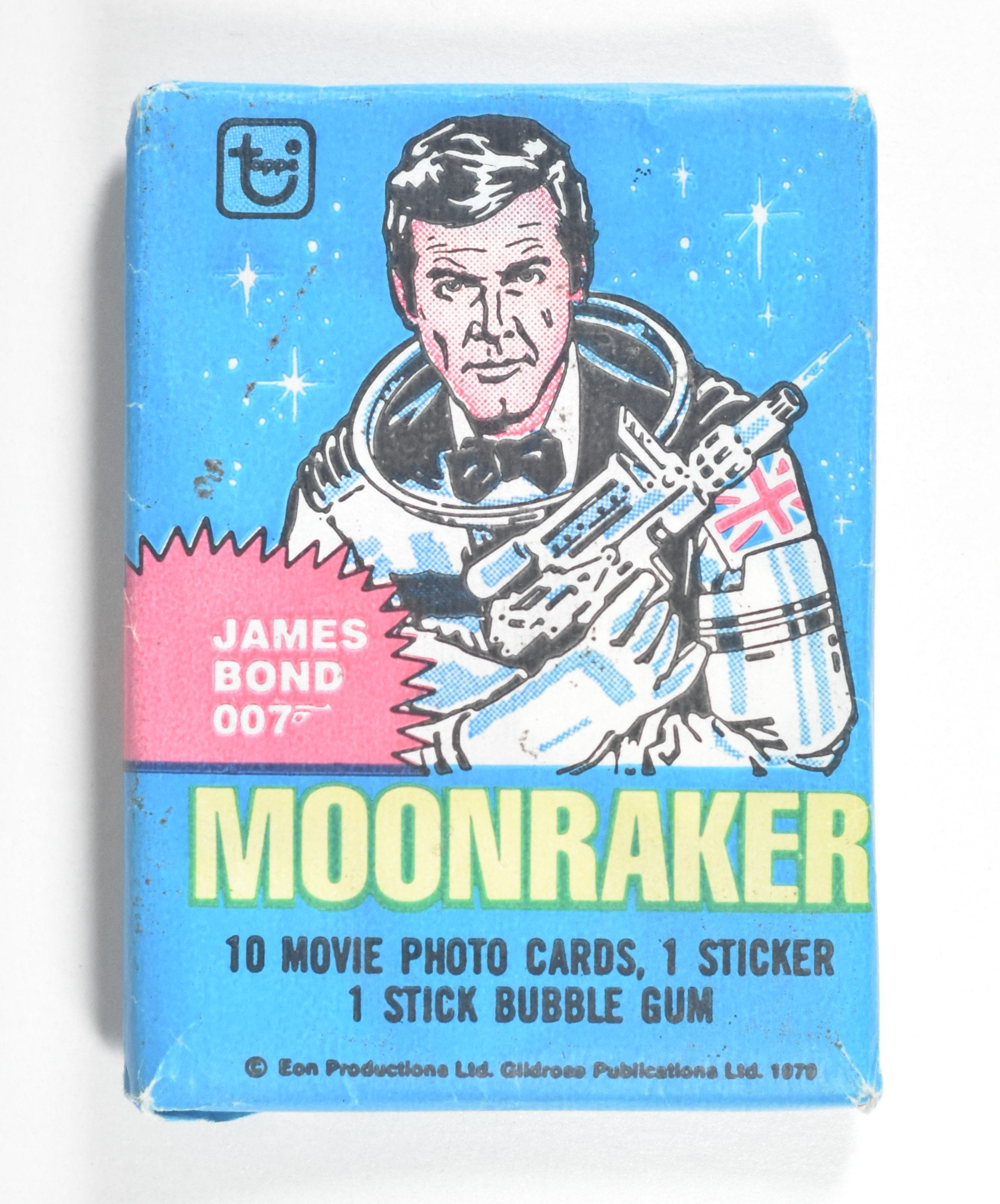 """James Bond 007 Moonraker"" Collectible Cards (1979)"