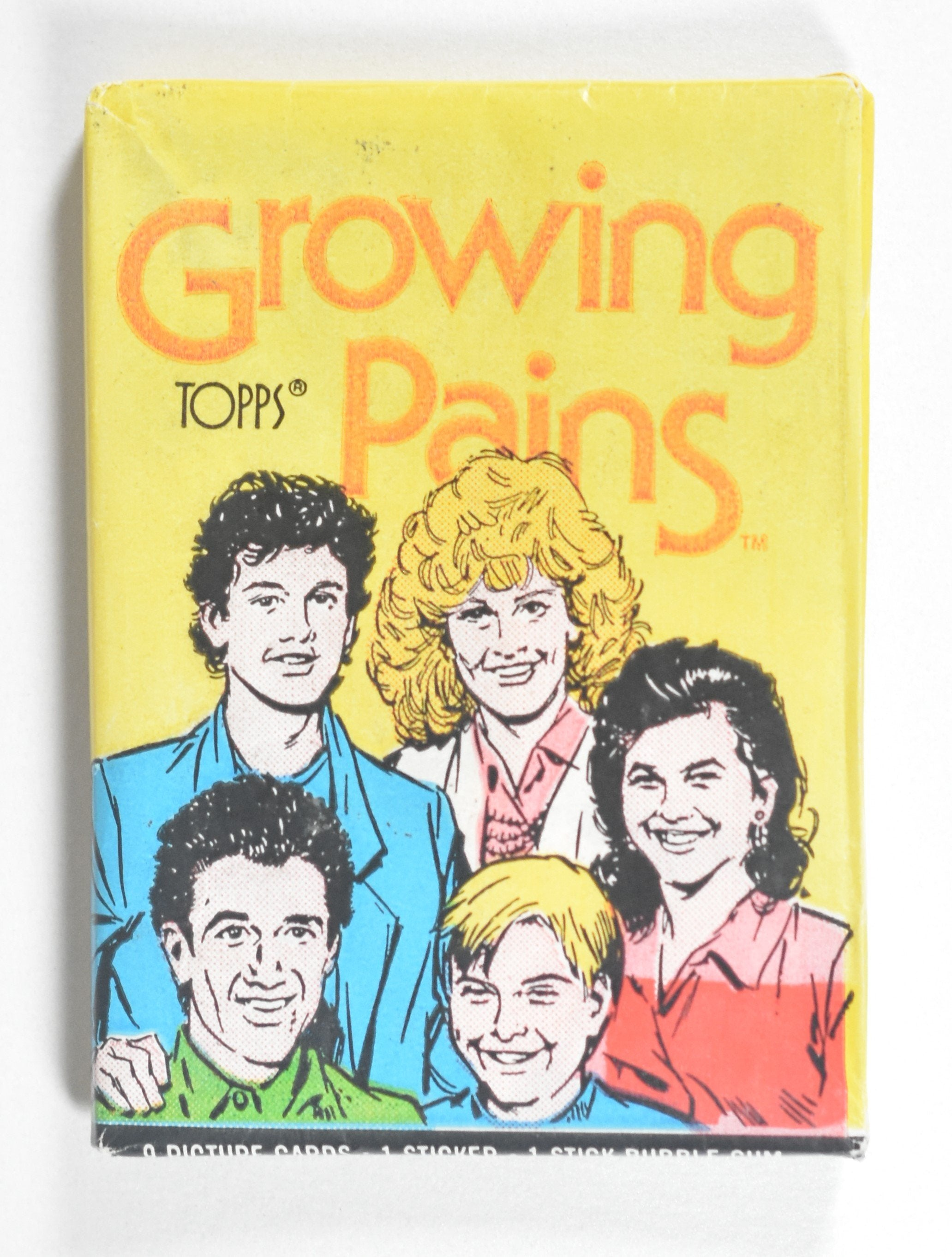 """Growing Pains"" Collectible Cards (1988)"