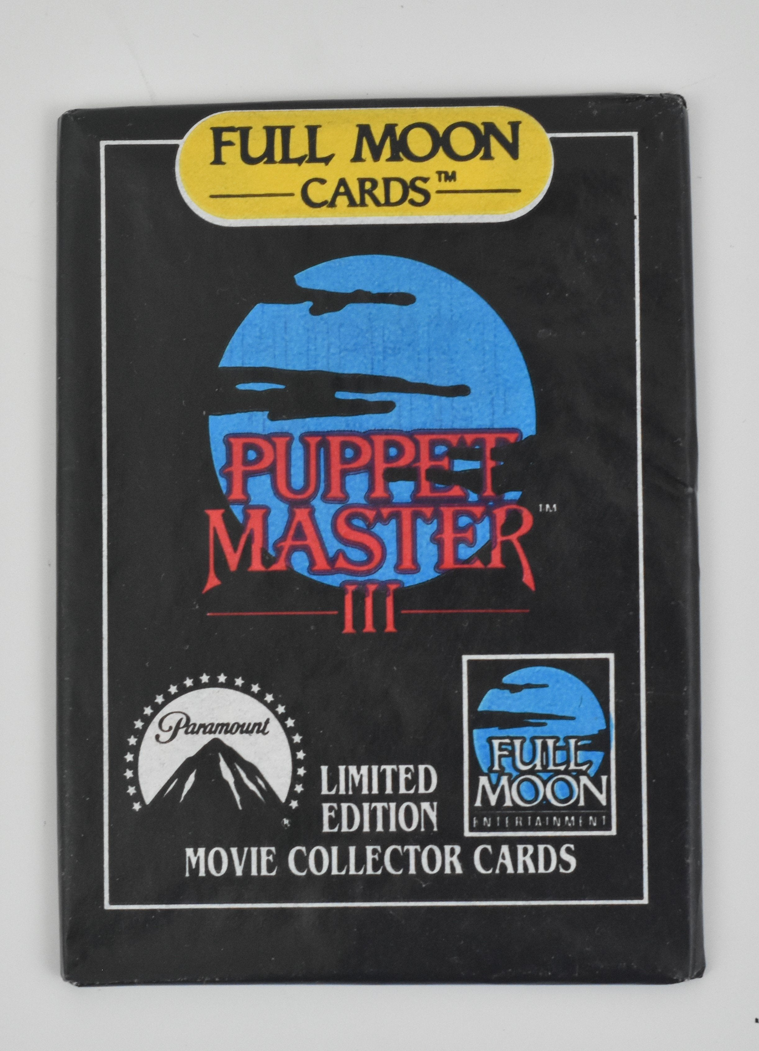 """Puppet Master III"" Collectible Cards (1991)"