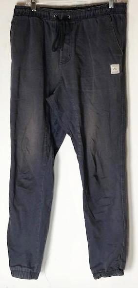 SOA Blue Rusty Elastic Waste Pants (size: 36)