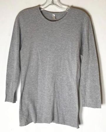 Screenbid Media Company, LLC. - SOA American Apparel Grey Thermal (size: medium)