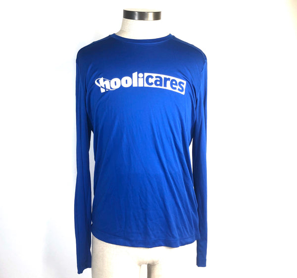 SILICON VALLEY: HooliCares Blue Long Sleeve Volunteer Shirt-1