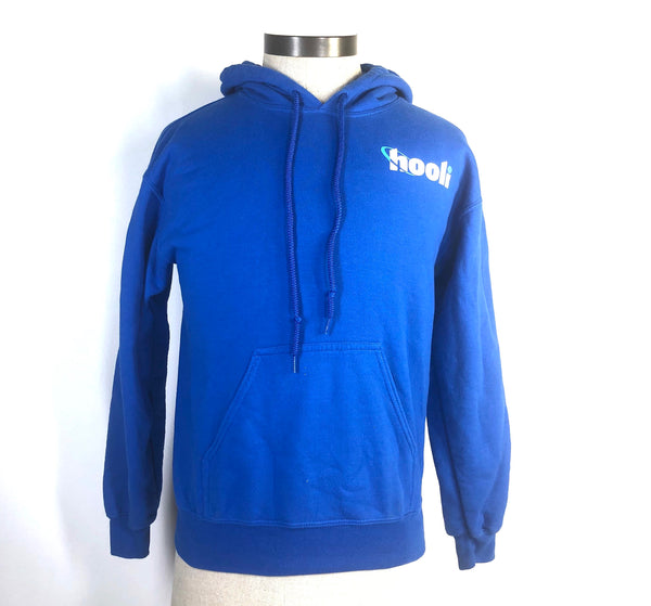 SILICON VALLEY: Blue Hooli Hoodie-1